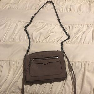 Purple Suede Rebecca Minkoff cross body
